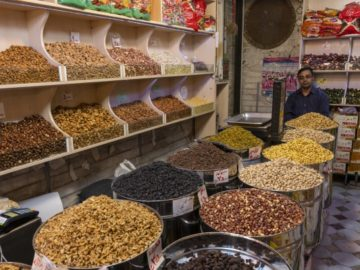 iran almonds nuts dried fruits trader