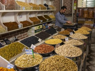 iran dried fruits pistachio store trader