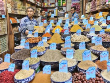 iran spices traders dried fruits nuts